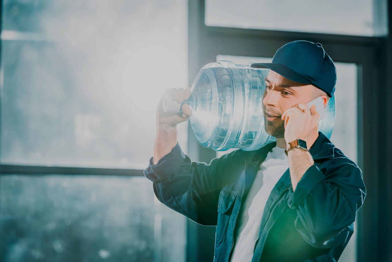 Доставка воды в Петергофе, Ломоносове и Стрельне